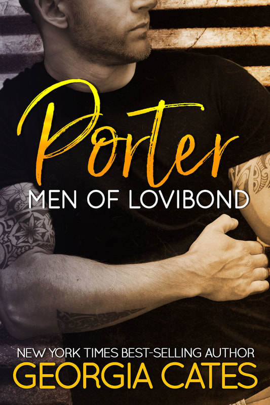 Cover for Porter Men of Lovibond Book 3 by Georgia Cates