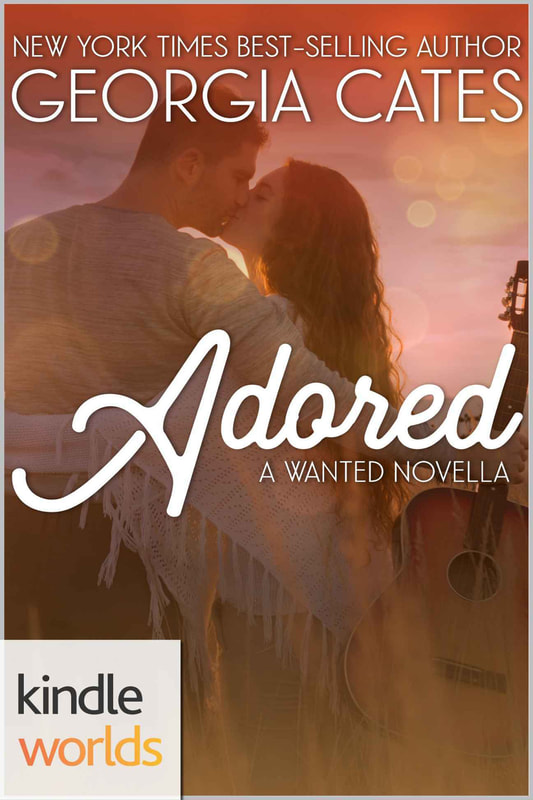 Cover for Wanted Adored Kindle Worlds Novella by Georgia Cates