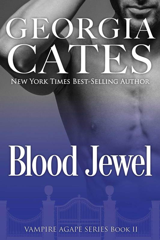 Cover for Blood Jewel The Vampire Agape Series Book 2 by Georgia Cates