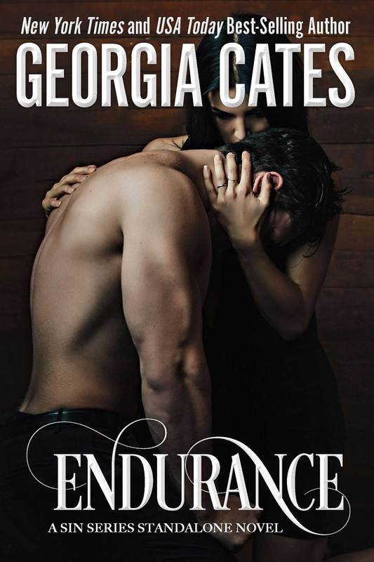 Cover for Endurance A Sin Series Standalone The Sin Trilogy Book 4 by Georgia Cates