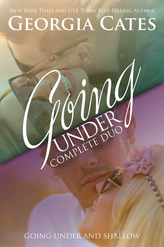 Cover for Going Under Complete Duo by Georgia Cates