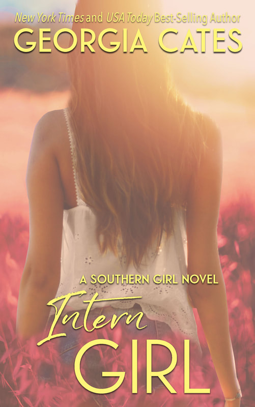 Book Cover for Intern Girl A Southern Girl Novel by Georgia Cates