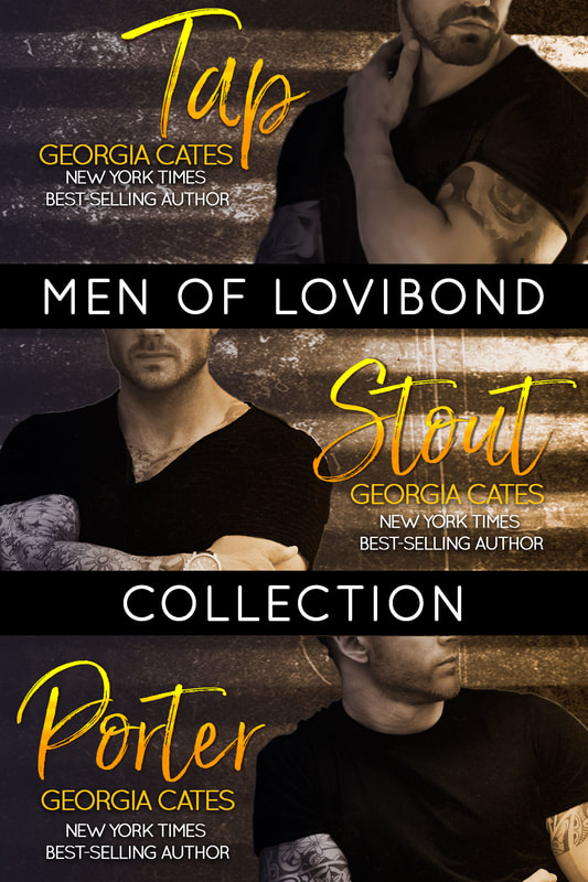 Cover for Men of Lovibond Collection by Georgia Cates