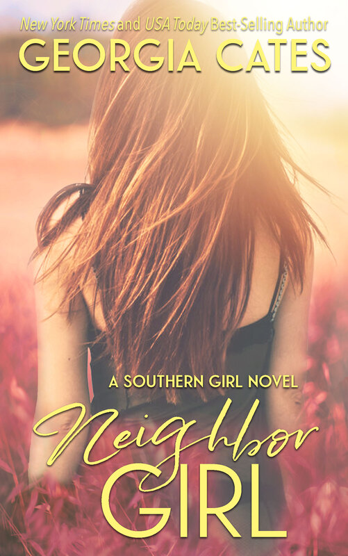 Cover for Neighbor Girl A Southern Girl Novel Book 2 by Georgia Cates