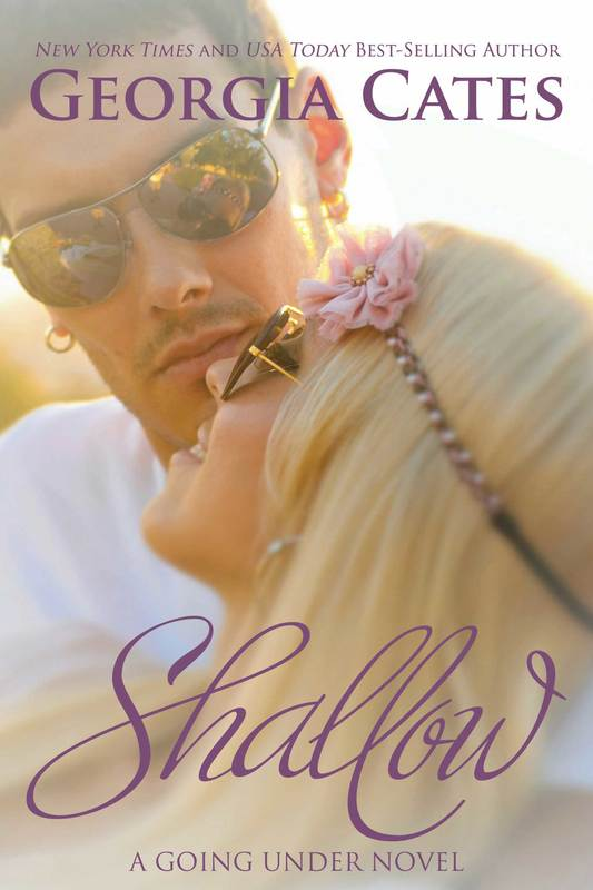 Cover for Shallow Book 2 in the Going Under Series by Georgia Cates