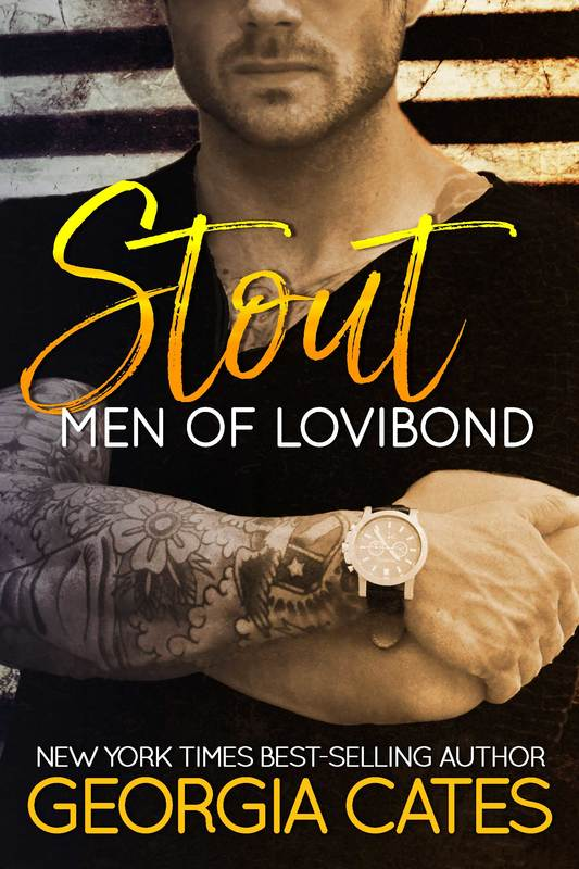 Cover for Stout Men of Lovibond Book 2 by Georgia Cates